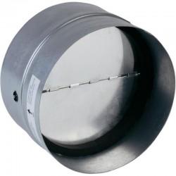 Terugslagklep 125 mm Metaal