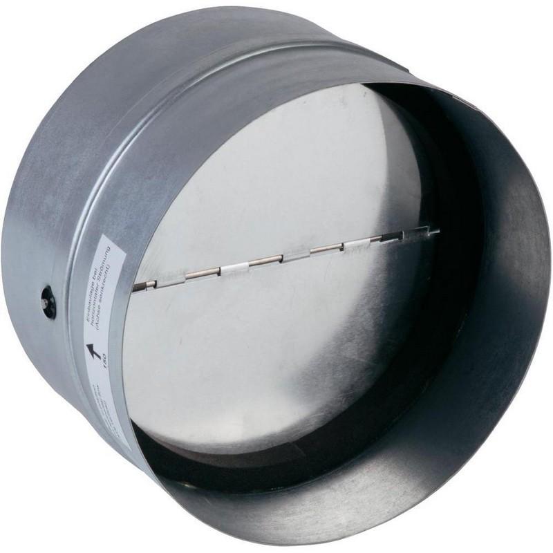 Back Draft Shutter 160 mm Metal