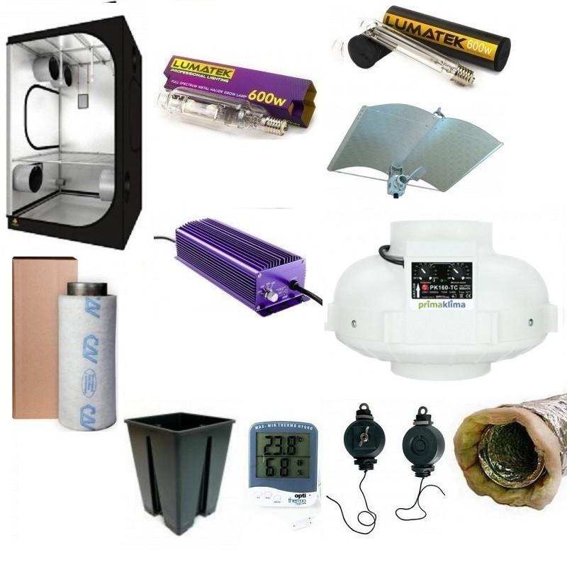 Pack Deluxe Dark Room 120 - 600 Watt