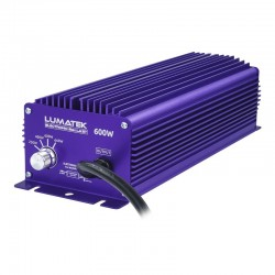 Lumatek Digital Ballast 600 Watt Dimmable+Superlumens