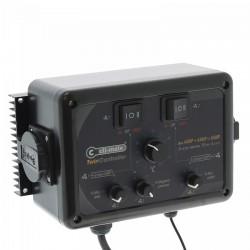 Cli-Mate Twin Controller 4+4 Amp - 1