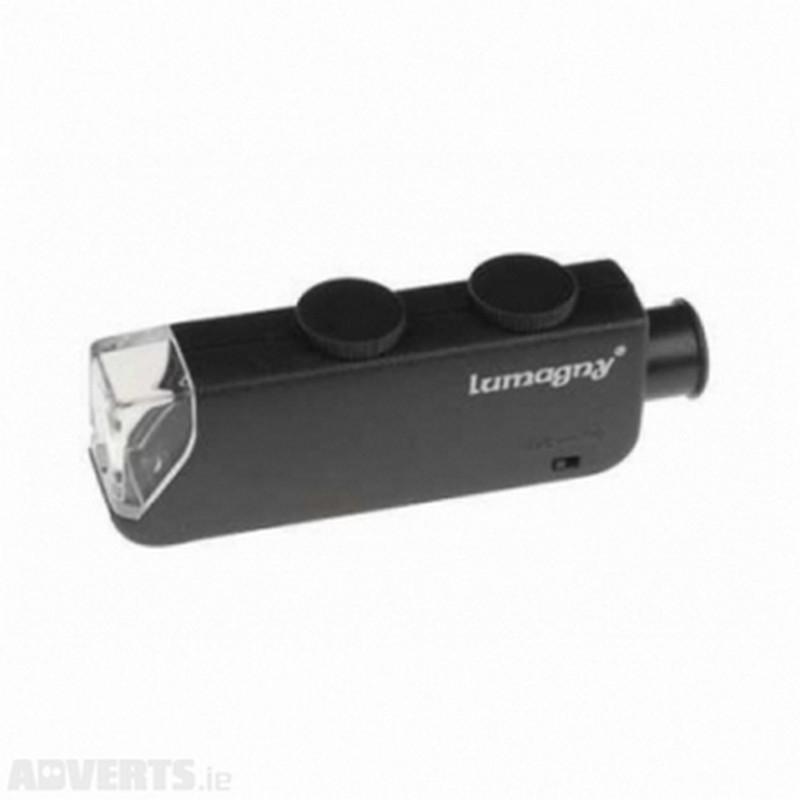 Microscope Grossissement X60-100 (LED)