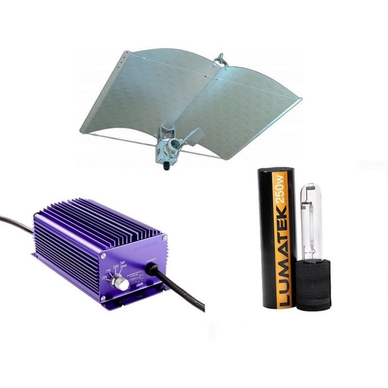 Verlichting Set 250 Watt Lumatek A-Just-A-Wing Avenger