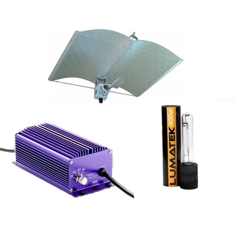 Verlichting Set 400 Watt Lumatek A-Just-A-Wing Avenger
