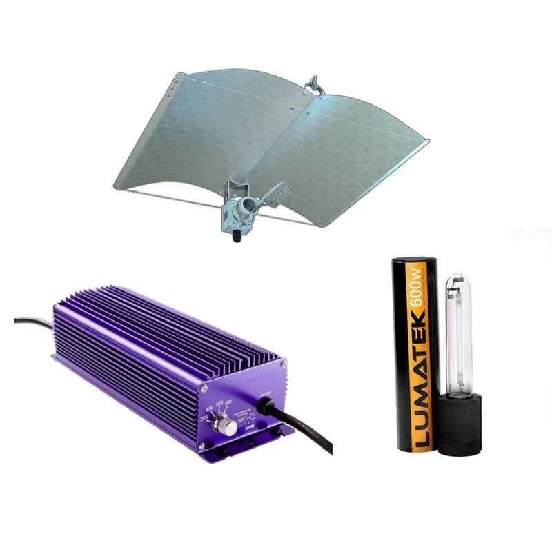 Verlichting Set 600 Watt Lumatek A-Just-A-Wing Avenger